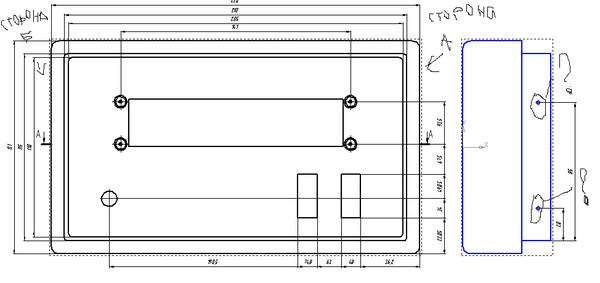 обозначение на чертеже знаком квадрат