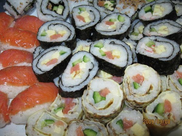 Рецепт самых простых суши в домашних условиях
