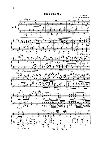 Mozart w a requiem, моцарт в а реквием