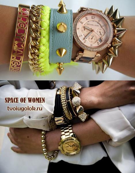 Какие браслеты сейчас в моде своими руками