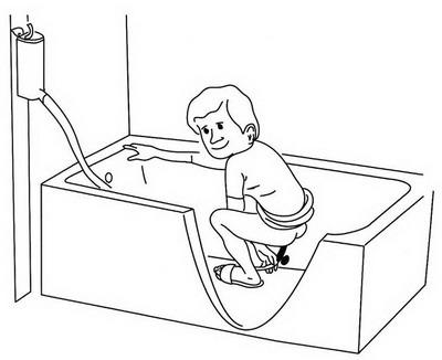 Клизма как сделать чтобы вода вышла