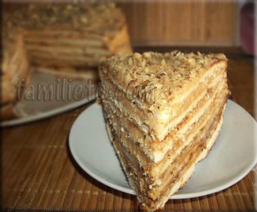 Торт медовик рецепт со сгущенкой и сметаной пошаговый рецепт с