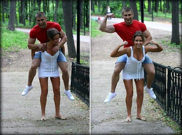 Как носить свою девушку на руках
