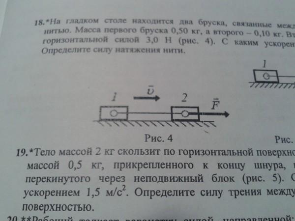 Два одинаковых бруска связанные легкой пружиной