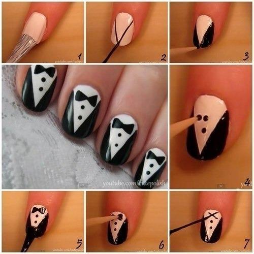 Как сделать рисунки на ногтях с шеллаком