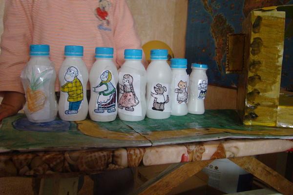 Поделки из бутылочек из детского питания 86