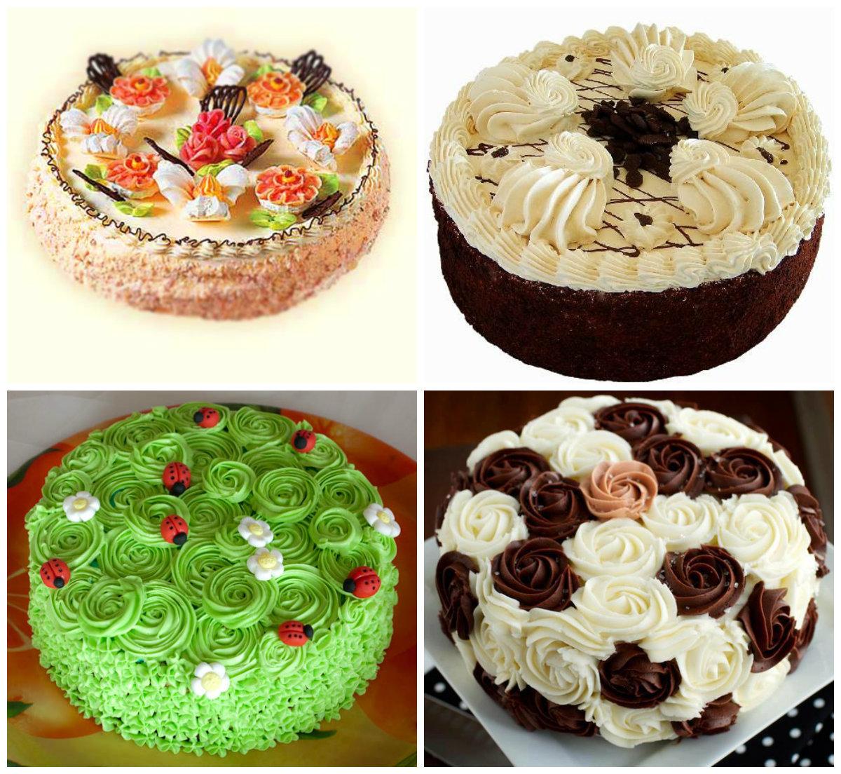 Украшаем тортик в домашних условиях 869