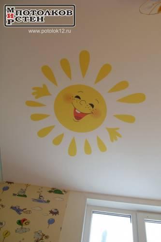 Что нарисовать на потолке