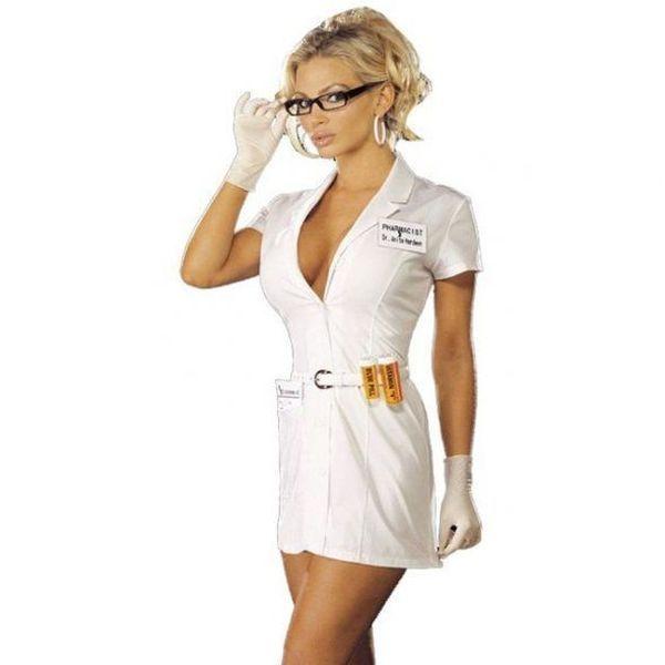 Конкурс самая красивая девушка в белом халате