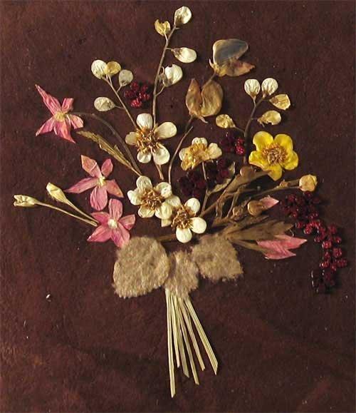 Поделки из сухих цветов