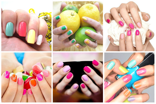 Фото как модно сейчас красить ногти