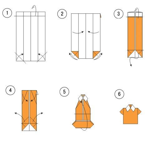 Как сделать открытки своими руками рубашку