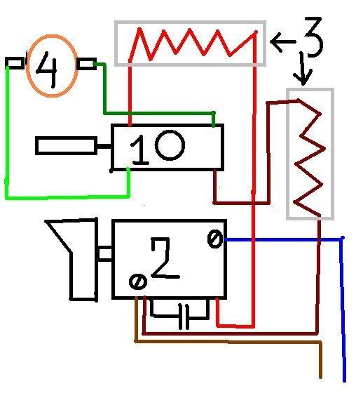 Кнопка регулятор оборотов дрели схема подключения