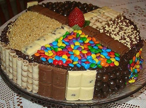 Торт своими руками ребенку на день рождения