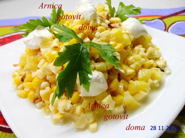 рецепт вкусного салата с семгой