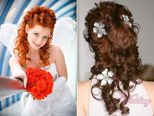 Прически на длинные кудрявые волосы для девочки