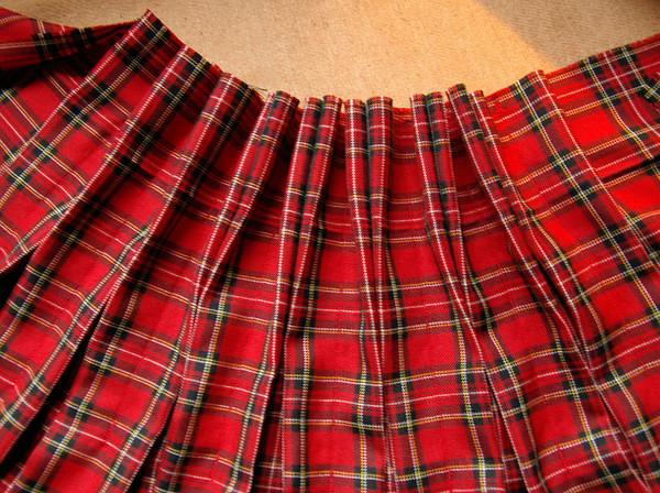 Как сшить юбку шотландку своими руками
