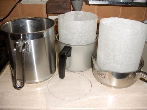 Как сделать формы для выпечки куличей