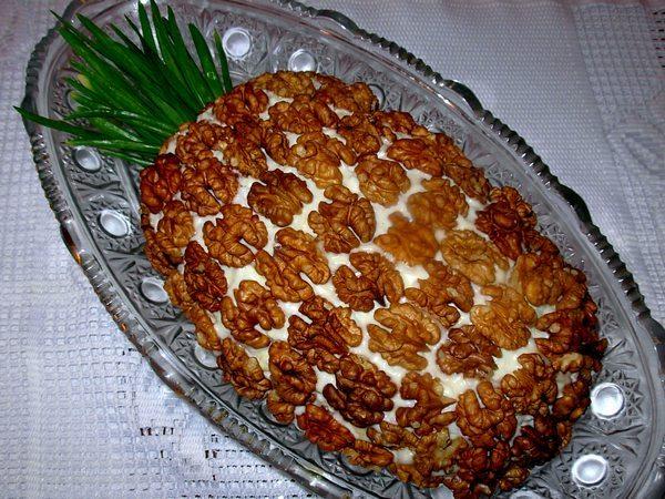 Салат на день рождения рецепты с несложные с курицей