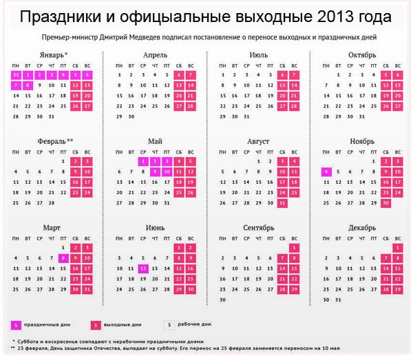 Праздник новый год выходные дни