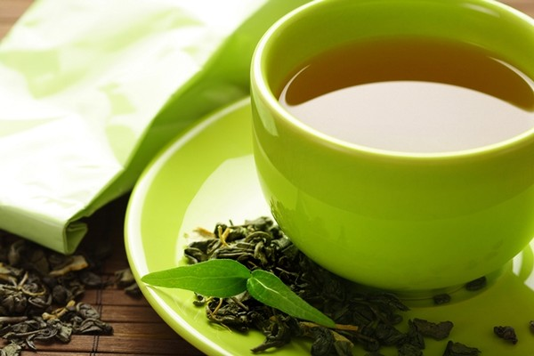 Зеленый чай до обеда