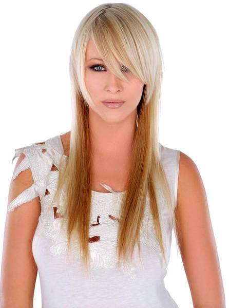 Модные стрижки на длинные и редкие волосы