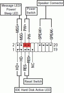 Схема подключения проводов включения к материнской плате   Блок нагрузок для проверки БП компьютера изготовление 200