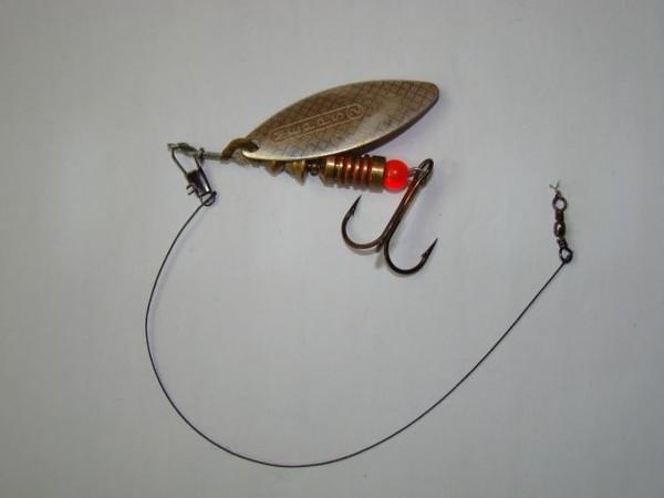 связать поводок для ловли щуки