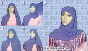 Ответы@Mail.Ru: Кто умеет платок красиво завязывать?Научите.