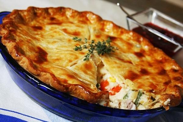 Пироги с куриной грудкой в духовке рецепт