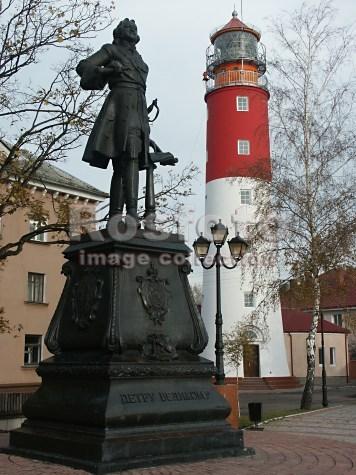 Балтийск в рисунках