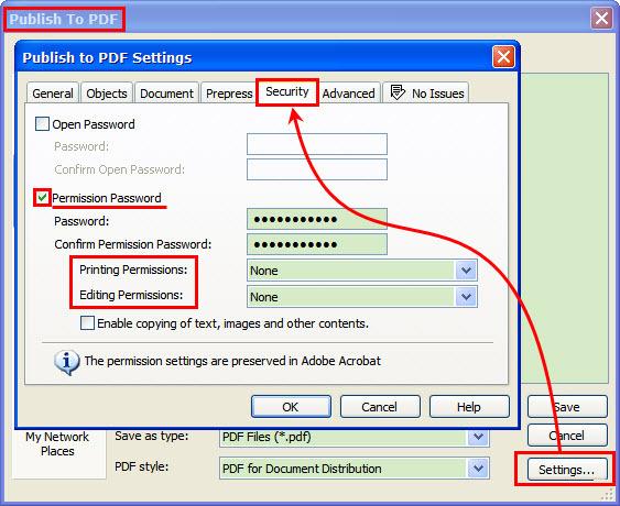 Ответы@Mail.Ru: нужно файл pdf защитить от копирования. Как это сделать? в какой проге?