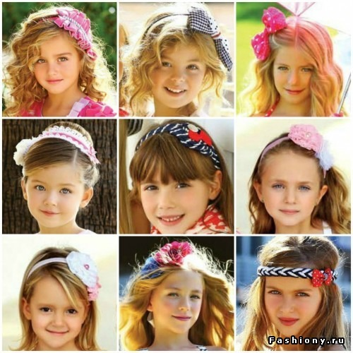 Детские аксессуары для волос своими руками