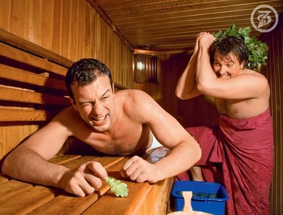 В бане с мужем онлайн