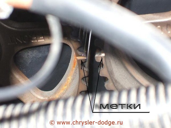 Как заменить ремень грм на додж караван 24