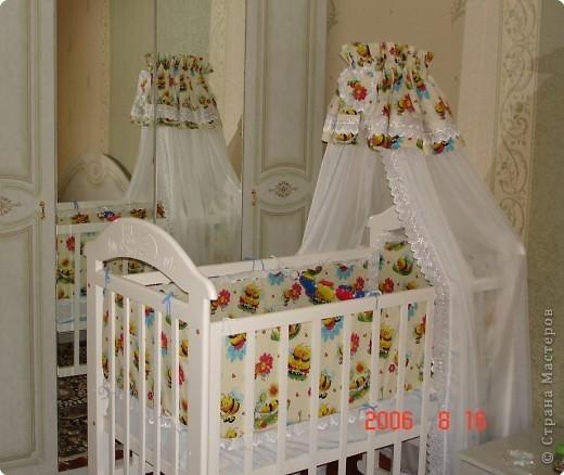 Своими руками балдахин для детской кроватки
