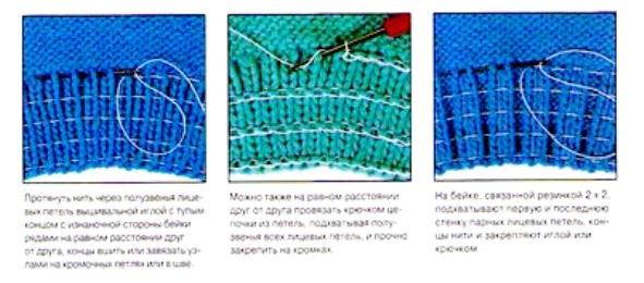 Как восстановить нитки после вязания 89