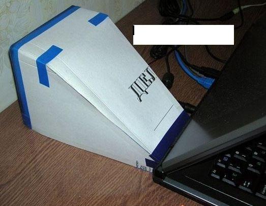 Как сделать охладитель для ноутбуков