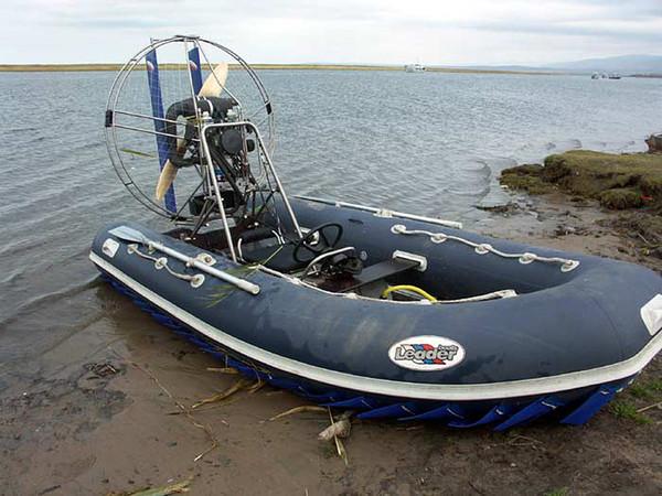 лодка для с воздушным винтом