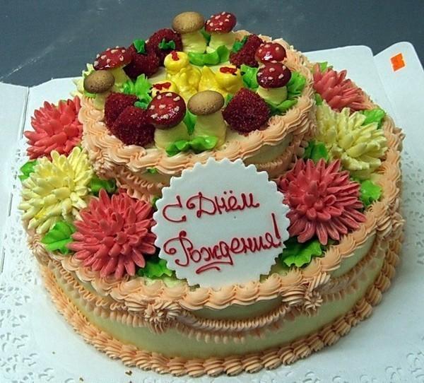Фото торта открытка