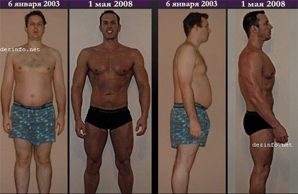 Похудеть перед тем как начать качаться
