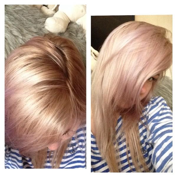 Покрасить волосы в домашних условиях в блонд