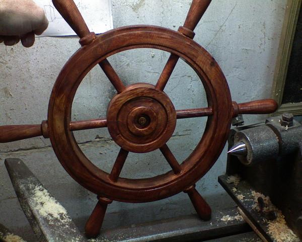 Как сделать колесо телеги
