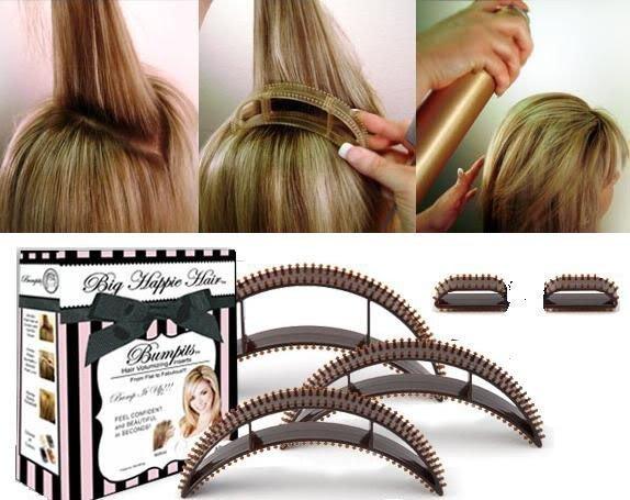 Как сделать большой объём волос