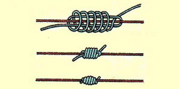 рыболовный скользящий узел