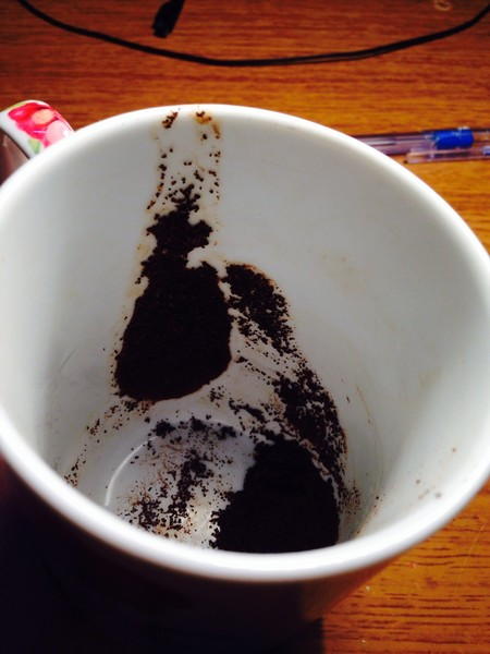 Цветок на кофейной гуще