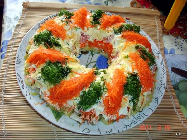 Салаты на новый год для кормящей мамы рецепты