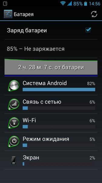 Как на андроиде сделать батарею в процентах