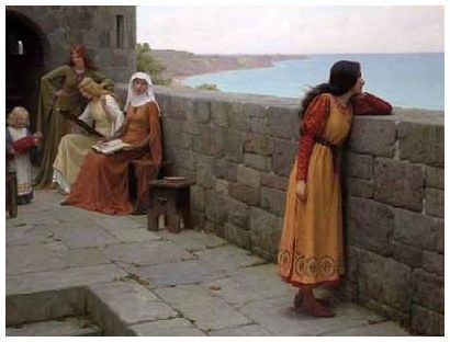 Из чего делали окна в средневековых европейских замках