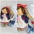 Как сделать на ручную куклу